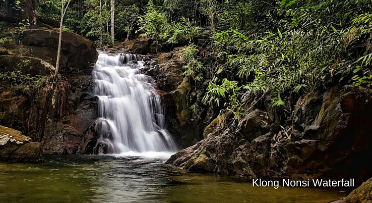 Koh Chang waterfalls