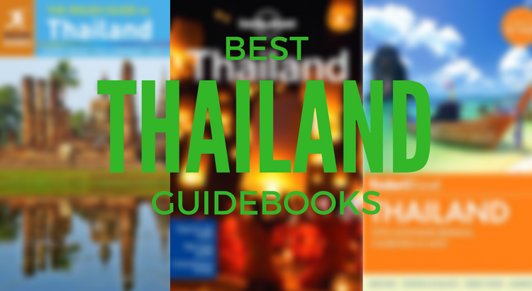 Recommended travel guidebooks for Thailand