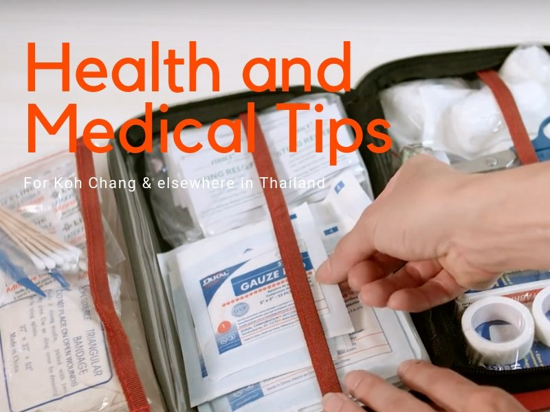 Advice for staying healthy on holiday in Thailand
